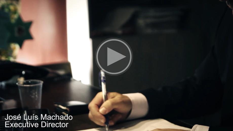 Video José Luis Machado - Executive Director